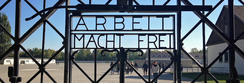 'Arbeit Macht-Frei' by Photographer Debbi Nelson. © Copyright 2016 Debbi Nelson dba Photograzia