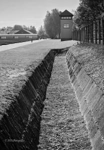 'Dachau Guard Tower' by Photographer Debbi Nelson. © Copyright 2016 Debbi Nelson dba Photograzia