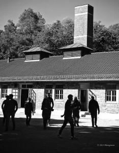 Dachau Krematorium outside