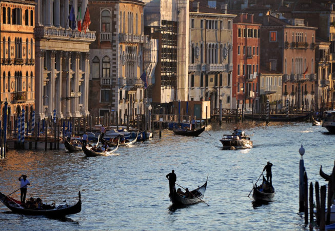 'Tres Gondoliers' by Photographer Debbi Nelson.  © Copyright 2016 Debbi Nelson dba Photograzia