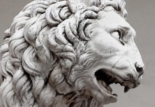 'The Frustrated Florentine Lion' by Photographer Debbi Neslson. © Copyright 2016 Debbi Nelson dba Photograzia