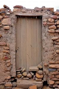 'Acoma Door' by photographer Debbi Nelson. © Copyright 2016 Debbi Nelson dba Photograzia