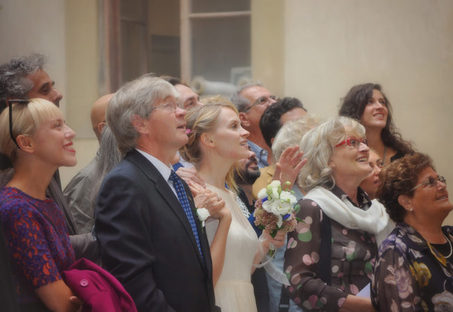 'Wedding Guests In Florence, Italy' by Photographer Debbi Nelson. © Copyright 2016 Debbi Nelson dba Photograzia