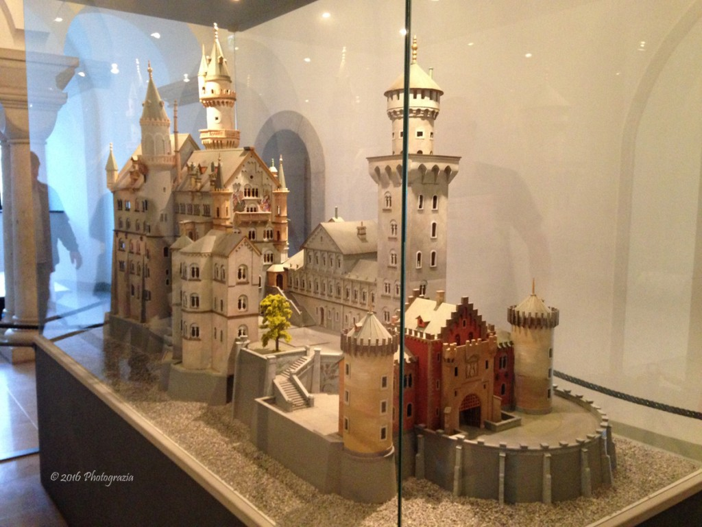 Model of Neuschwanstein Castle by Photographer Debbi Nelson. © Copyright 2016 Debbi Nelson dba Photograzia
