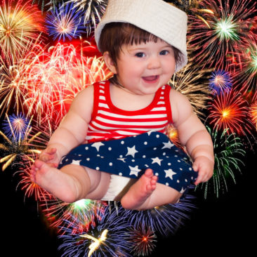 'Baby Fireworks' by Photographer Debbi Nelson. © Copyright 2016 Debbi Nelson dba Photograzia