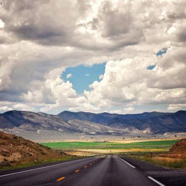 'Amazing Road' by Photographer Debbi Nelson. © Copyright 2016 Debbi Nelson dba Photograzia