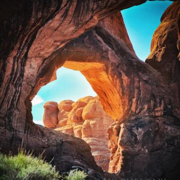 'Arch In Utah' by Photographer Debbi Nelson. © Copyright 2016 Debbi Nelson dba Photograzia