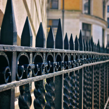 Wrought Iron Boston Strong